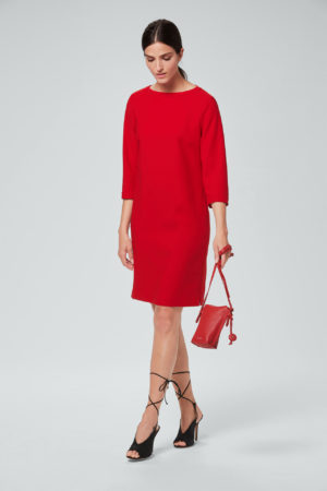 Cocktail-Kleid in Rot