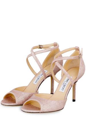 Jimmy Choo Sandaletten Emsy 85 rosa