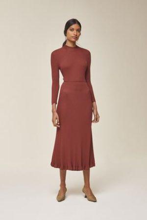 Midi Kleid gestrickt