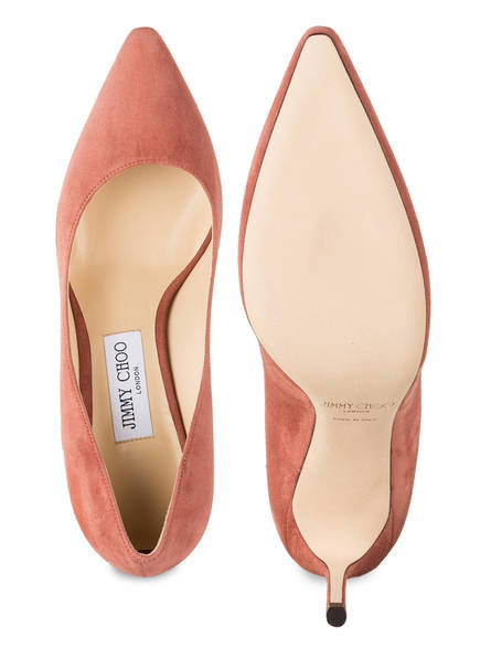 Jimmy Choo Pumps Romy 85 rosa