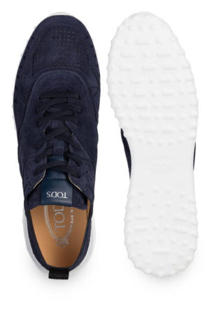 Tod's Sneaker blau