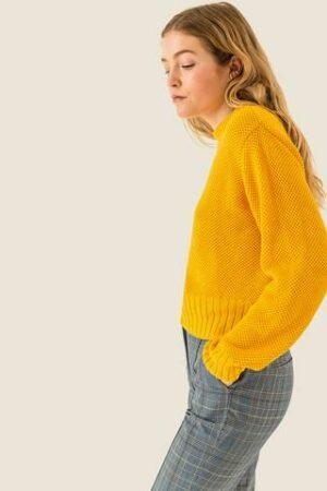 Kurz geschnittener Pullover