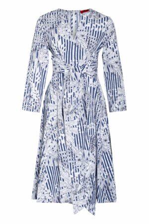 Max & Co. Kleid Bandolo blau