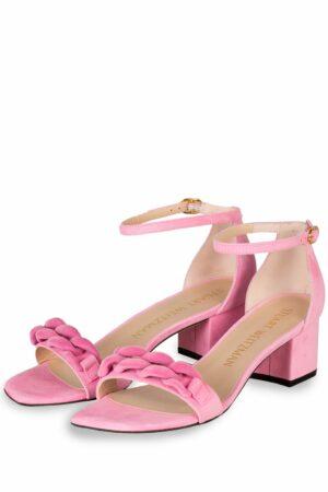 Stuart Weitzman Sandaletten Amelina rosa