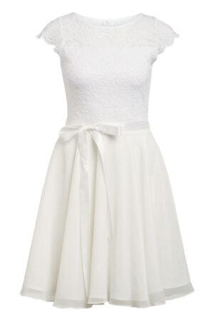 Swing Kleid weiss
